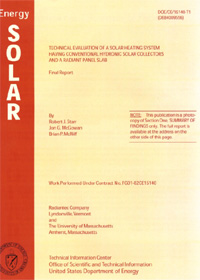 Solar Energy Research