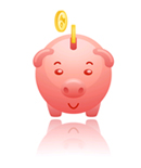 Piggybank Savings Possible with Radiant Heat