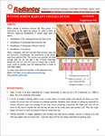 Installing Tubing Between the Floor Joists