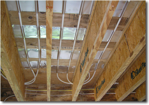 Retrofit into floor joists