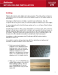 Ceiling Installation Manual